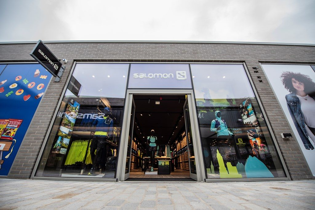 Salomon's first UK store